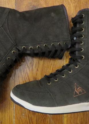 Зимние ботинки на меху le coq sportif 39р оригинал