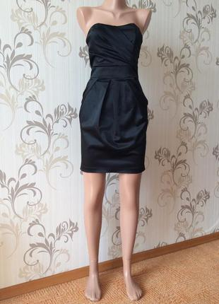 Атласное платье rise