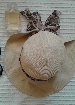 Шикарная летняя  шляпа от m&s