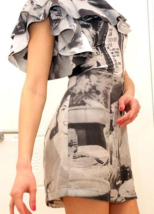 Обалденное платье tago с креативным принтом