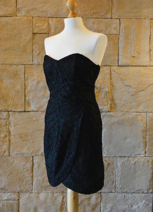 Платье бюстье с кружевом h&m, шикарное и дорого смотрится