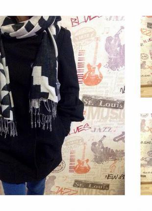 Кашемировое пальто pull&bear