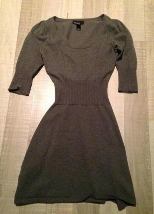 Вязаное платье mango