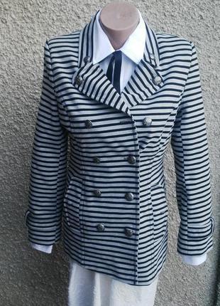 Пальто,жакет,пиджак в полоску,вискоза + полиэстер, atmosphere