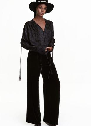 Оригинальная блуза от бренда h&m studio разм. 36