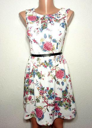 Платье фактурной ткани р м-л cameo rose