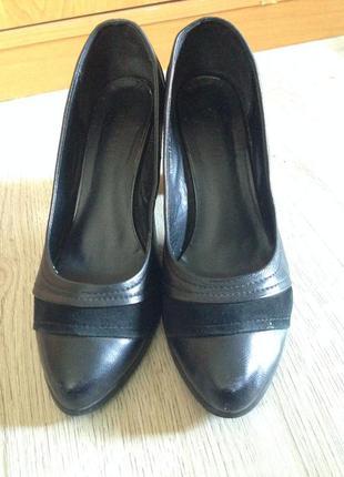 Туфли женские кожаные grado