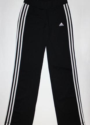 Черные спортивные штаны adidas climalite