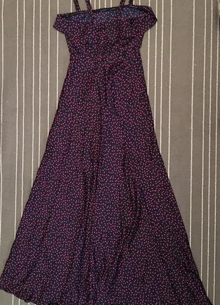 Летнее платье в пол isabel red (вторая линия isabel garcia)