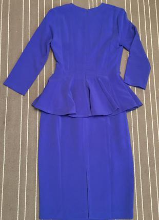 Классическое платье с баской isabel garcia