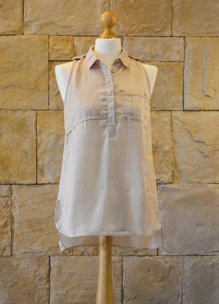 Атласная блуза stradivarius