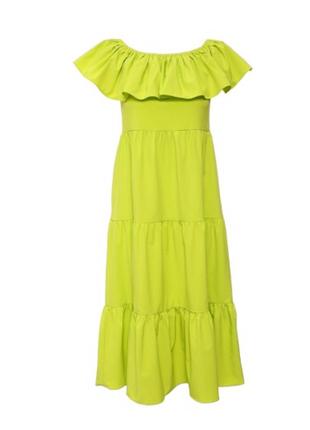 Платье с открытыми плечами lamania
