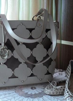 Оригінальна сумка шкіряна