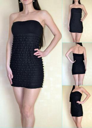 Облегающее платье-бюстье s