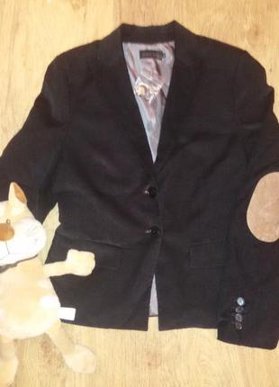 Трендовый  вельветовый пиджак modissa