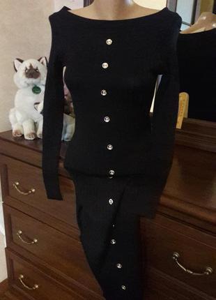 Шикарное платье balmain