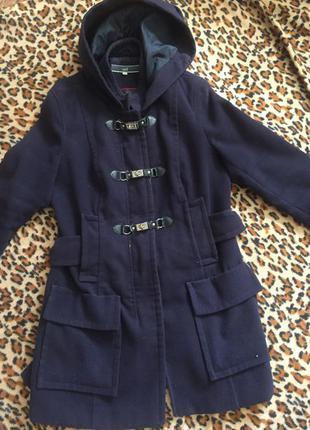 Темносиние пальто от topshop