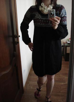 Теплое шерстяное платье  parkhande, новое, р. м