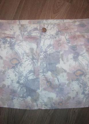 Красивенная фирменная джинсовая юбочка mavi - р-р м или 12 р-р где-то