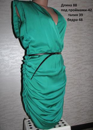 Бирюзовое платье mango