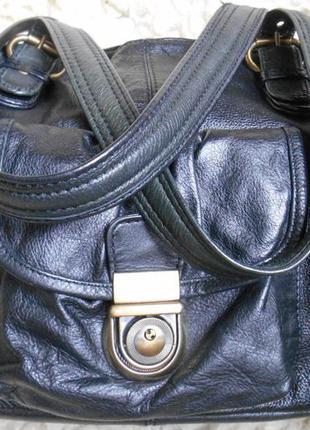 Шикарная сумка clarks! англия! кожа! большая .как новая
