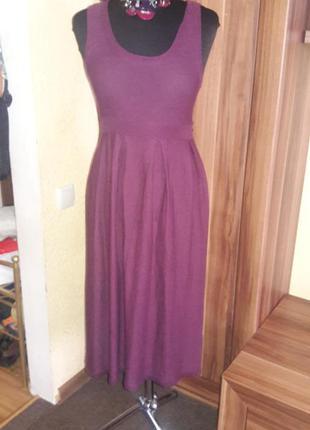 Вязаное платье topshop не ношенное
