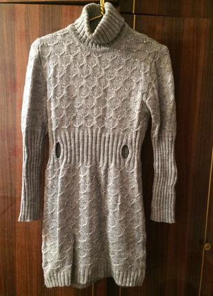 Вязаное платье blumarine