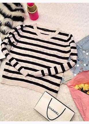 Полосатый свитер forever 21