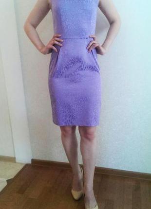 Фиолетовое платье натали болгар s