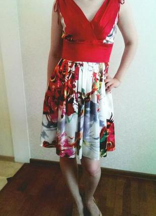 Нарядное летнее платье ricci & co (monica ricci)