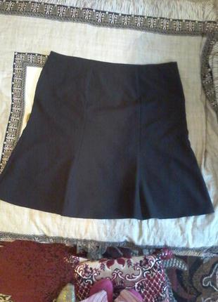 Черная юбка george 110 см талия