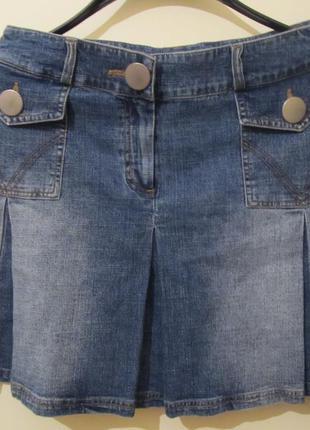 Спідниця-міні (юбка) джинсова