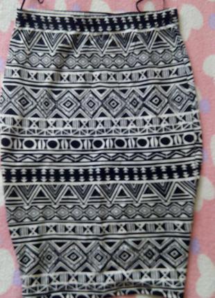 Отличная юбка с орнаментом от george