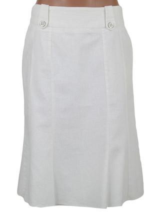 Молочная юбка-миди