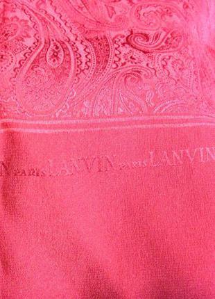 Оригинальный  шарфик - платок мирового бренда lanvin.