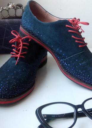 Супер туфли в стразах
