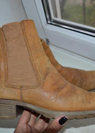 Timberland ботинки / челси кожа