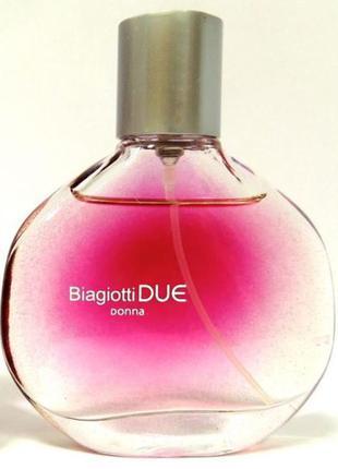 Парфюмированная вода biagiotti due donna оригинал италия