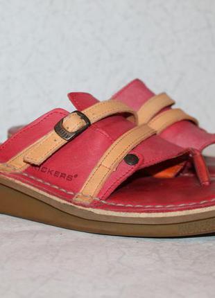 Качественные сандалии от kickers натуральная кожа 36 размер