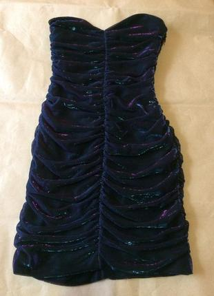 Короткое платье латье h&m