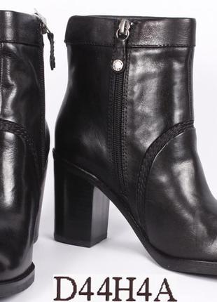 Кожаные полусапожки geox ботильони ботинки сапоги