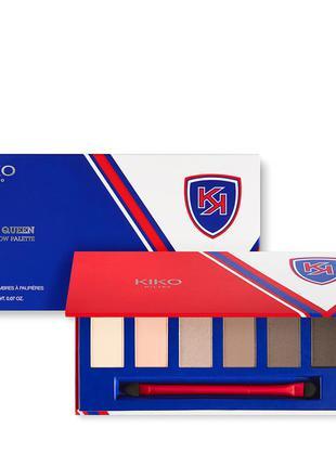 Новый большой набор (палетка) из 6 теней кико милано италия (kiko), есть в 2-х вариантах цветов