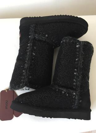 Оригинал!полусапоги mou - самая тёплая и комфортная обувь для нашей зимы.