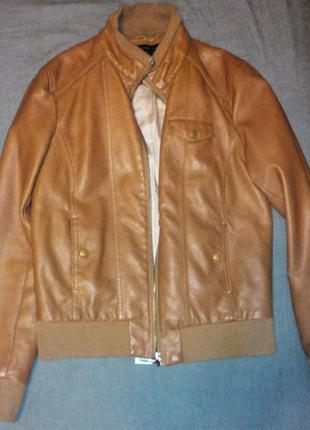 Коричневая курточка от suiteblanco