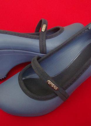 Туфли балетки crocs оригинал 37 размер w7