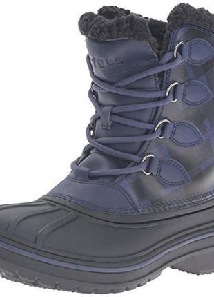 Зимние ботинки crocs р.8us- 25,3см. оригинал