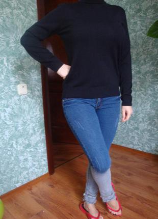 Гольф водолазка  свитер базовый от mark& spencer