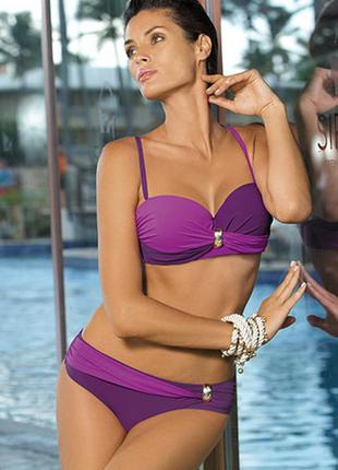Liliana фиолетовый купальник марко раздельный marko