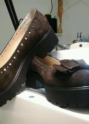 Супер-удобные и модные замшевые туфли