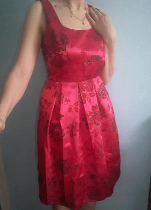 Яркое красивенное платье